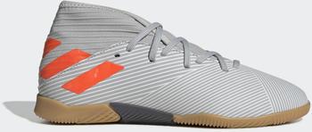 Adidas Nemeziz 19.3 IN Fußballschuh Grey Two / Solar Orange / Chalk White Kinder (EF8304)