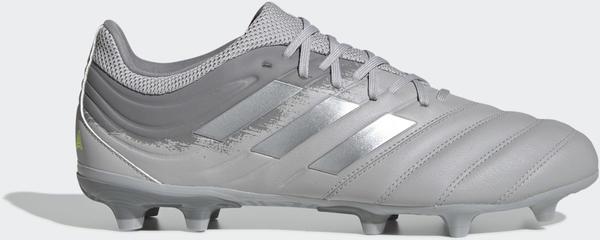 Adidas Copa 20.3 FG Fußballschuh Grey Two / Silver Met. / Solar Yellow Leder Unisex (EF8329)