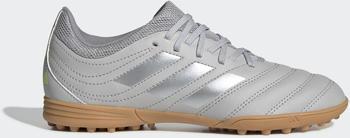 Adidas Copa 20.3 TF Fußballschuh Grey Two / Matte Silver / Grey Three Kinder (EF8343)