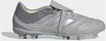 Adidas Copa Gloro 20.2 FG Fußballschuh Grey Two / Silver Met. / Solar Yellow Leder Unisex (EF8361)
