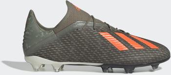 Adidas X 19.2 FG Fußballschuh Legacy Green / Solar Orange / Chalk White Unisex (EF8364)