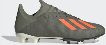 Adidas X 19.3 FG Fußballschuh Legacy Green / Solar Orange / Chalk White Unisex (EF8365)