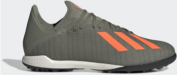 Adidas X 19.3 TF Fußballschuh Legacy Green / Solar Orange / Chalk White Unisex (EF8366)