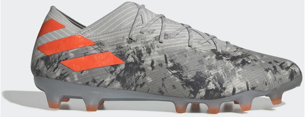 Adidas Nemeziz 19.1 AG Fußballschuh Grey Two / Solar Orange / Chalk White Unisex (EF9034)