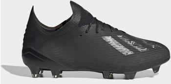 Adidas X 19.1 FG Fußballschuh Core Black / Core Black / Silver Metallic Männer (EG7127)
