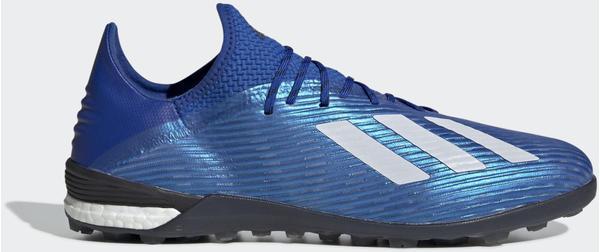 Adidas X 19.1 TF Fußballschuh Team Royal Blue / Cloud White / Core Black Männer (EG7136)
