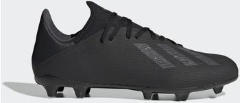 Adidas X 19.3 FG Fußballschuh Core Black / Utility Black / Silver Met. Männer (F35381)