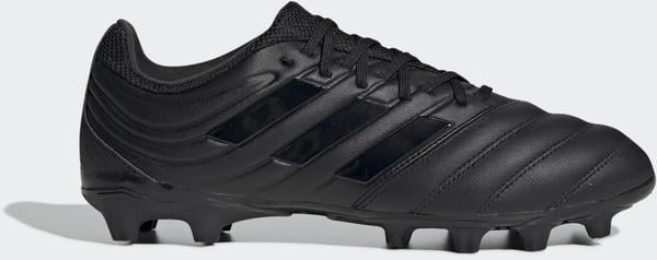 Adidas Copa 20.3 MG Fußballschuh Core Black / Core Black / Solid Grey Leder Männer (FV2916)