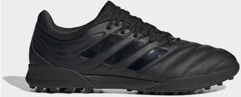 Adidas Copa 20.3 TF Fußballschuh Core Black / Core Black / Solid Grey Leder Männer (G28532)