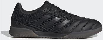 Adidas Copa 20.3 Sala IN Fußballschuh Core Black / Core Black / Solid Grey Leder Männer (G28546)