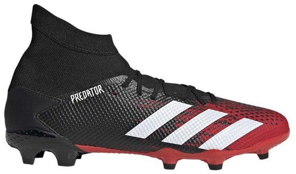 Adidas Predator 19.3 FG Core Black/Ftwr White/Active Red