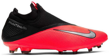 Nike Phantom Vision 2 Pro Dynamic Fit FG Laser Crimson/Black/Metallic Silver