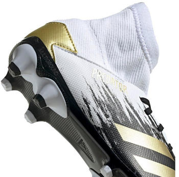 Adidas Predator 20.3 MG Junior weiß/schwarz/gold/bunt (FW9219)