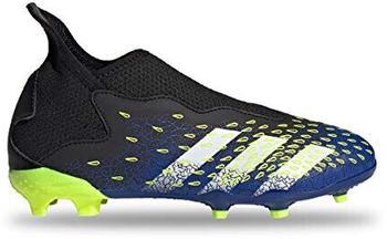 Adidas Predator Freak.3 Laceless Firm Ground Kids core black/cloud white/solar yellow