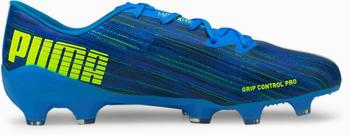 Puma Men's Ultra 2.2 FG AG Football Boots blue yellow