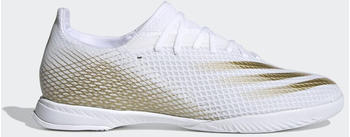 Adidas X Ghosted.3 IN Cloud White/Met.Gold Melange/Cloud White (EG8204)