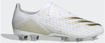 Adidas X Ghosted.2 FG Cloud White/Met.Gold Melange/Silver Metallic