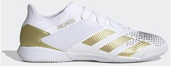 Adidas Predator Mutator 20.3 IN Cloud White/Gold Metallic/Core Black