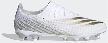 Adidas X Ghosted.3 MG Cloud White/Met.Gold Melange/Silver Metallic