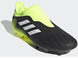 Adidas Copa Sense 3 Laceless FG core black/cloud white/solar yellow