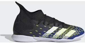 Adidas Predator Freak.3 IN Fußballschuh Core Black/Cloud White/Royal Blue Kinder