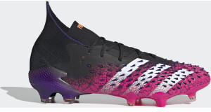 Adidas Predator Freak.1 FG Core Black/Cloud White/Shock Pink (FW7241)