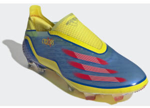 Adidas Marvel X Ghosted+ Laceless FG Unisex (FW6907-0005) blue/vivid red/bright yellow