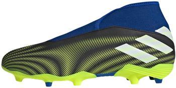 Adidas Nemeziz.3 FG Laceless Unisex (FW7411-0003) core black/cloud white/solar yellow