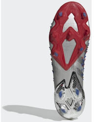 Adidas Predator Freak.1 FG Unisex (FY1050-0004) silver metallic/core black/royal blue