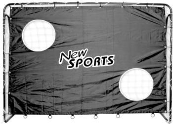 new-sports-fussballtor-inkl-torwand-0000992