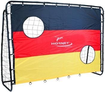 Hudora HORNET Fußballtor Match D mit Torwand,