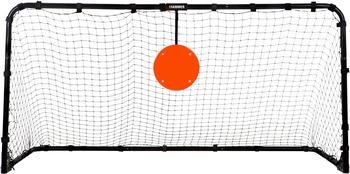 Hammer Fußballtor Target Shot PRO, Klappbares Fußballtor mit Trefferscheibe