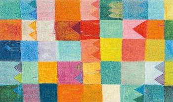 Wash+Dry Sonnenstadt 70x120cm multicolor