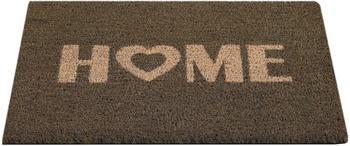 Andiamo Kokos Home Heart 40x60cm grau