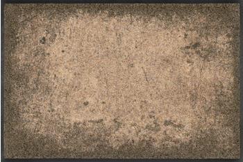 Wash+Dry Shades of Grey 50x75cm braun grau
