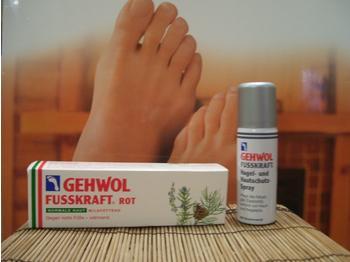 Gehwol Fusskraft Rot für Normale Haut (75ml)