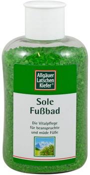 Allgäuer Latschenkiefer Sole Fußbad (350 g)