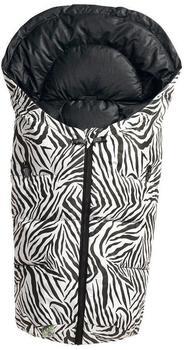 Odenwälder Dauni wild child Fußsäckchen - Zebra