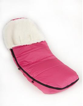 Kaiser Lammfellfußsack für Brio Go pink
