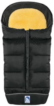 Heitmann-Felle Premium Winterfußsack Eisbärchen dunkelgrau/schwarz