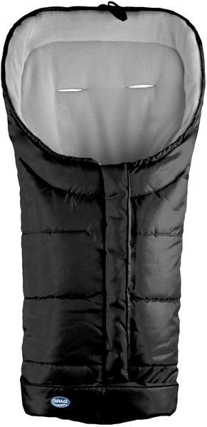 Urra Techno Fleece Fußsack schwarz/grau
