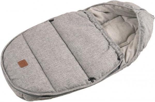 Kaiser Hoody hellgrau/grau graues Cotton Fleece