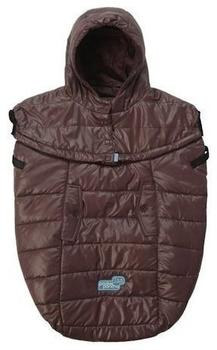 7 A.m. Enfant PP100-MGch LW Pookie Poncho, One Size, marron glace bunting