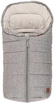 Kaiser ANNA Kuschelsäckchen hellgrau/grau graues Cotton Fleece