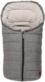 Kaiser ANNA Kuschelsäckchen schwarz/grau graues Cotton Fleece