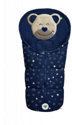 Odenwälder BabyNest Fußsäckchen Mucki fashion sparkling stars marine