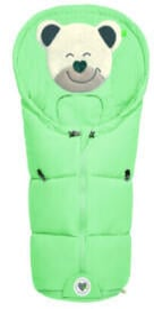 Odenwälder BabyNest Fußsäckchen Mucki classic neon mint