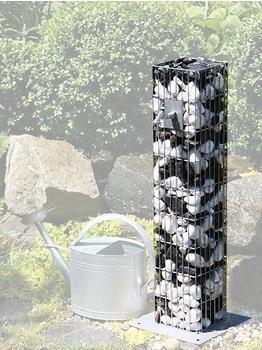 Bellissa Steinsäule als Wasserzapfsäule 16 x 16 x 90 cm