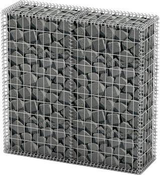 vidaXL Steinkorb Drahtkorb Steingabionen 100 x 30 x 100 cm