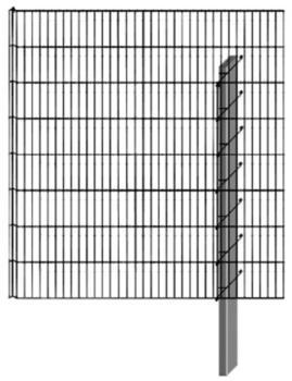 Bellissa Limes Mauersystem Anbausatz 112 x 90 x 23 cm